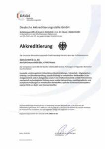 Akkreditierung D-PL-18991-01-00